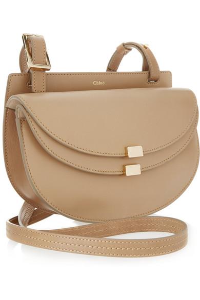 Chlo¨¦ | Georgia mini leather shoulder bag | NET-A-PORTER.COM