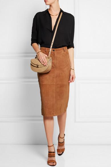 chloe pocketbooks - Chlo�� | Georgia mini leather shoulder bag | NET-A-PORTER.COM