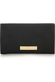 Chloé Fold-Over textured-leather wallet