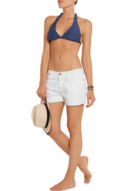 Baja scalloped bikini briefs