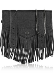 PS1 small fringed leather shoulder bag