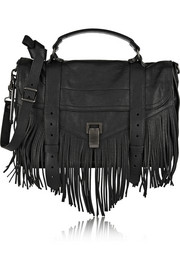 The PS1 medium fringed leather shoulder bag