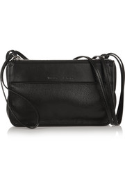 Z textured-leather shoulder bag