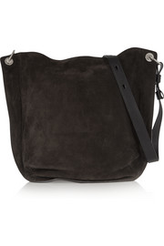 Prospect suede shoulder bag