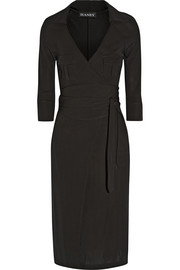 Haney The Sarah stretch-jersey wrap dress