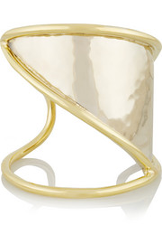 Horizon gold and silver-tone cuff