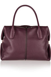 D-Cube Bauletto medium leather tote