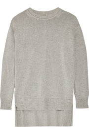 Cotton, cashmere and silk-blend sweater