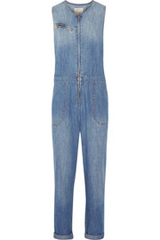 The Flight denim jumpsuit