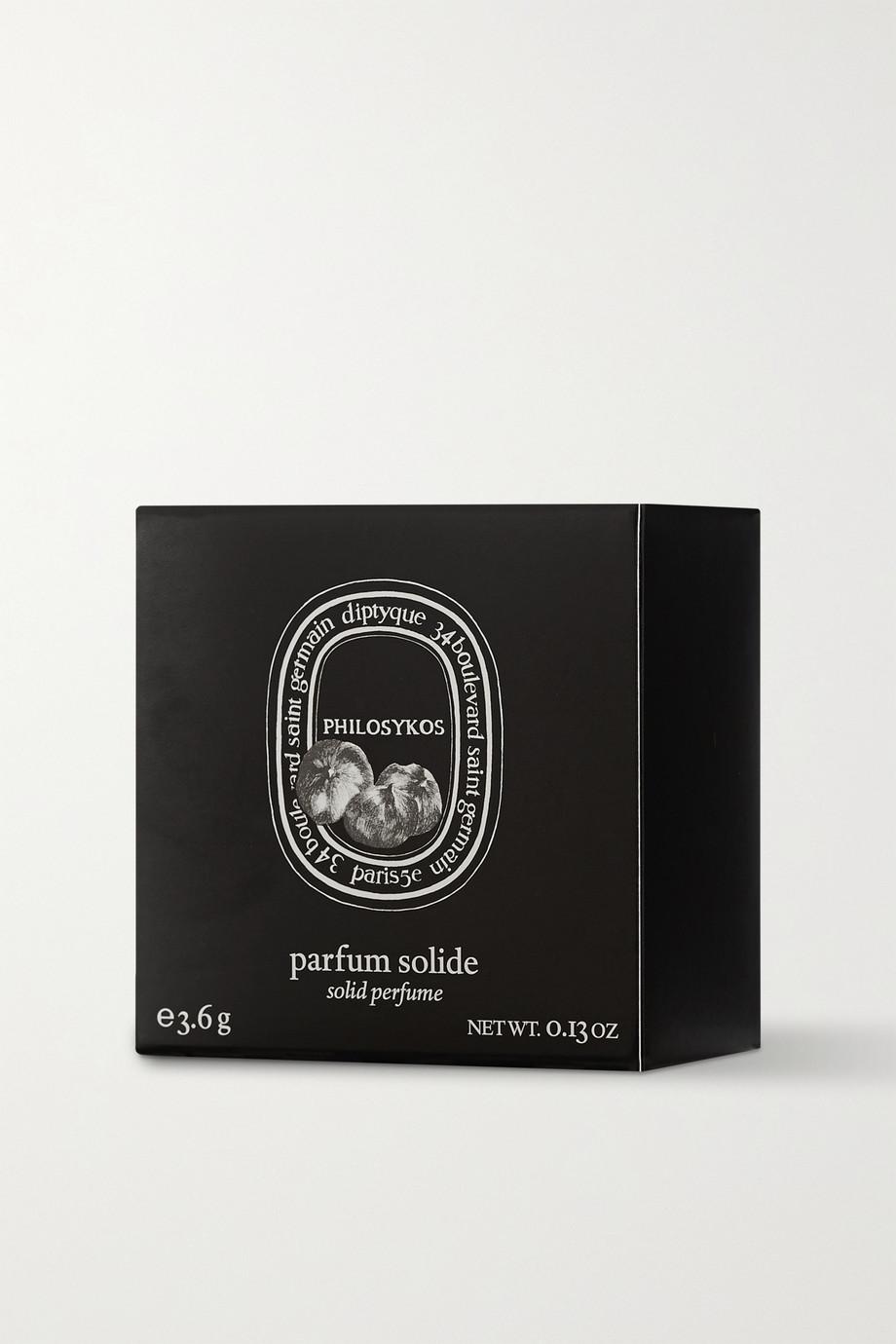 Diptyque Philosykos Solid Perfume – Feigenblatt, Frucht & Holz, 3,6 g – Cremeparfum