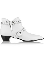 Carroll studded leather ankle boots