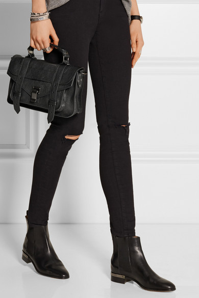 Proenza Schouler The Ps1 Tiny Leather Satchel Net A