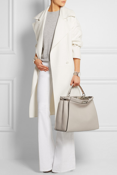 Fendi Peekaboo Dove Grey