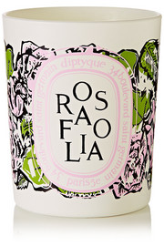 Diptyque Rosafolia scented candle