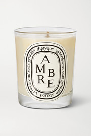 Ambre scented candle
