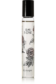 Eau Rose Perfumed Oil Roll-On - Bergamot, Lychee, Rose, Cedar & Musks, 20ml