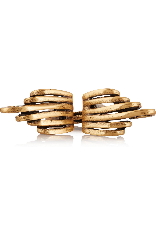 Oscar de la Renta Gold-plated ring