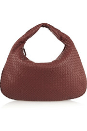 Veneta maxi intrecciato leather shoulder bag