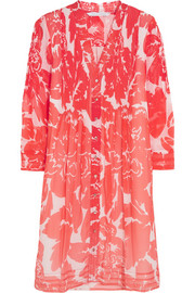 Layla printed silk-chiffon dress
