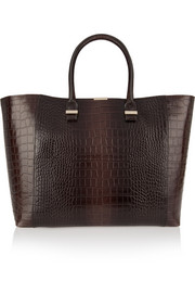 Liberty croc-effect leather tote