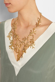 Coralli gold-tone necklace