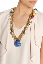 Abissi gold-tone necklace