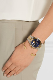 Stainless steel and gold-tone watch