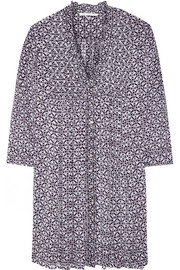 Diane von Furstenberg Layla printed silk-chiffon mini dress