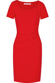 Diane von Furstenberg Bevina gathered stretch-jersey dress