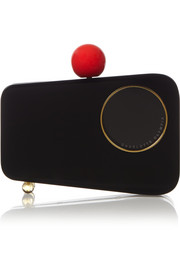 Charlotte Olympia Mobile Perspex clutch