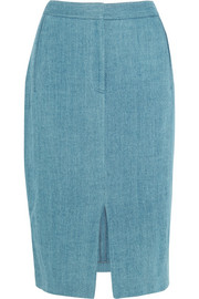 Adam Lippes Denim pencil skirt
