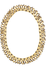 Erickson Beamon Hung Up gold-plated Swarovski crystal headband