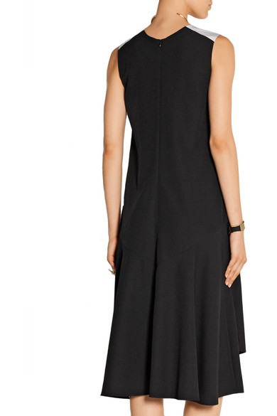 TOME. Silk faille-trimmed crepe midi dress. $397.50. Play. Zoom In