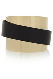 Etro Gold-plated resin cuff