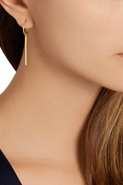 Creed gold-plated earrings