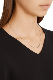 Serra silver necklace