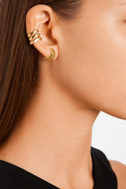 Trinity gold-plated ear cuff