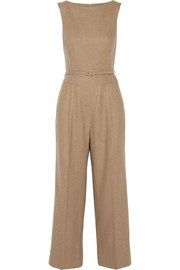 Camel hair jumpsuit