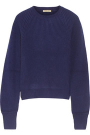 Ribbed cashmere sweater