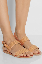 Dinami studded leather sandals