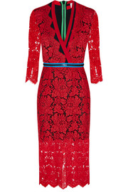 Preen by Thornton Bregazzi Sloane zipped lace dress
