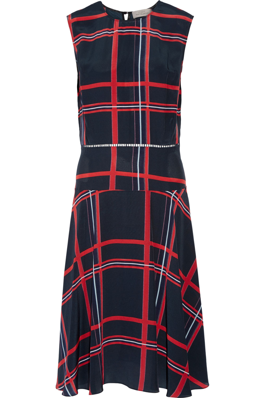 Preen by Thornton Bregazzi Oxford printed silk midi dress