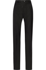 Chilton wool-twill straight-leg pants