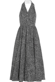 Michael Kors Printed cotton-poplin dress