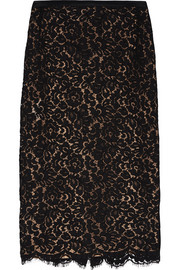 Michael Kors Guipure lace pencil skirt