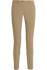 Michael Kors Samantha stretch-wool gabardine skinny pants