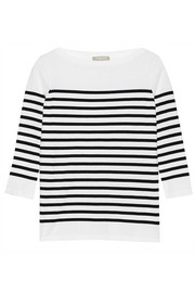 Michael Kors Striped cotton top