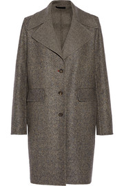 Sonja wool and silk-blend tweed coat