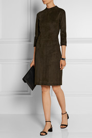 Sobee stretch-suede mini dress