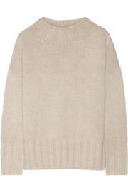 Meme oversized merino wool and cashmere-blend sweater
